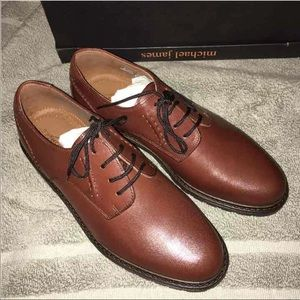 Michael James Oxford Dress Shoes, Boys Size 4M
